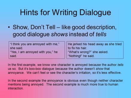 Hints+for+Writing+Dialogue